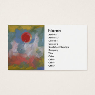 Goodbye Red Balloon Business Card