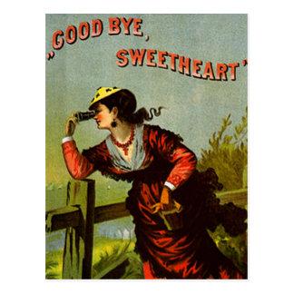 Goodbye Sweetheart Postcard