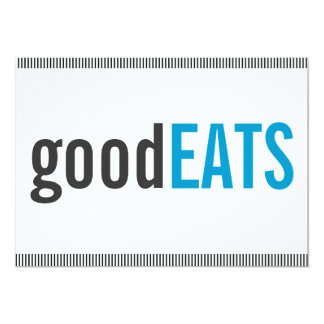GoodEATS Dinner Party Invitation (Casual)