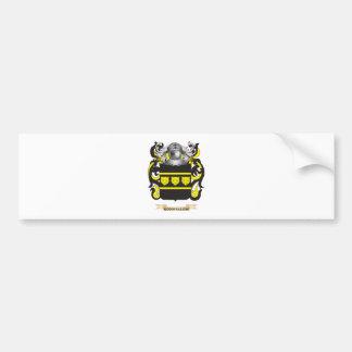 Goodfellow Coat of Arms (Family Crest) Car Bumper Sticker