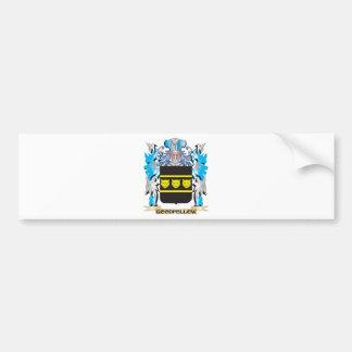 Goodfellow Coat of Arms - Family Crest Car Bumper Sticker
