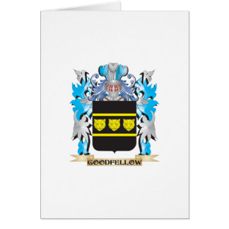 Goodfellow Coat of Arms - Family Crest Card