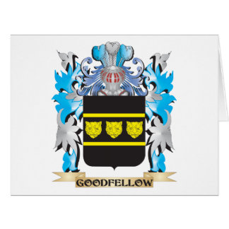 Goodfellow Coat of Arms - Family Crest Cards