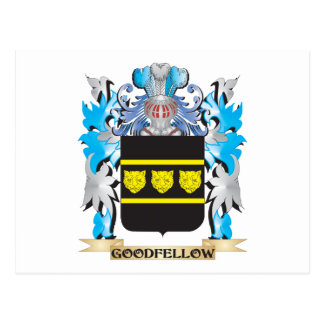 Goodfellow Coat of Arms - Family Crest Postcard