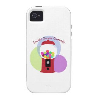 Goodie Goodie Gumballs Case-Mate iPhone 4 Carcasa