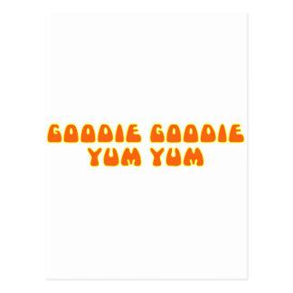Goodie Goodie Yum Yum Tarjetas Postales