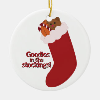 Goodies In The Stockings! Christmas Tree Ornament
