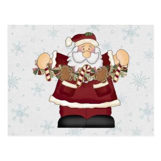 Goodies Santa Post Cards