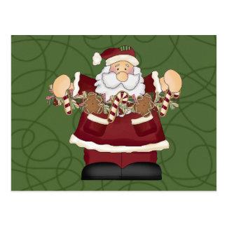 Goodies Santa Postcards
