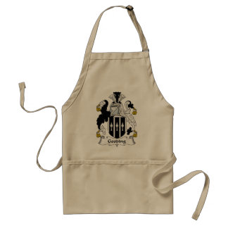 Gooding Family Crest Adult Apron