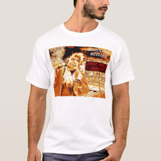 goodlord willing gold t shirt
