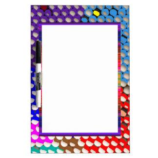 Goodluck Charm Art :  Twinkle DOT Sky Star Pattern Dry Erase Board