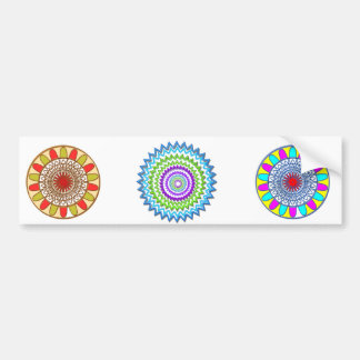 GoodLuck Charm Gifts : Chakra Collection Car Bumper Sticker