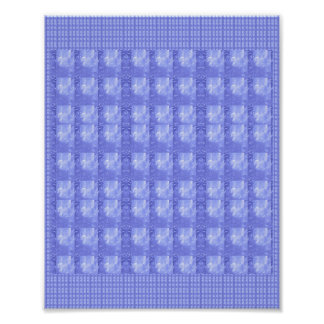 Goodluck Crystal Pattern Wall decoration FineArt Poster