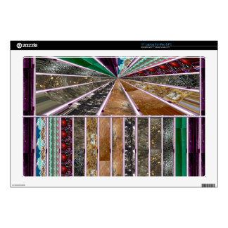 "Goodluck Crystal Stone RareEarth Micro Photography 17"" Laptop Skin"