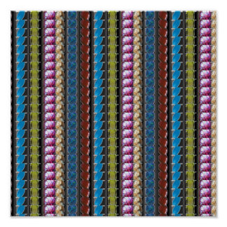 GoodLuck Energy Pattern Precious Stone Crystal FUN Posters