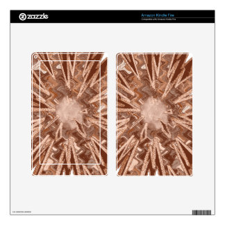Goodluck Energy Star Sparkle modern Abstract art Skins For Kindle Fire