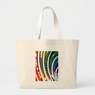 Goodluck feliz agita las líneas regalos de n del bolsa tela grande