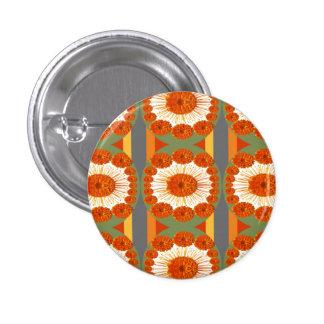 Goodluck Gesture : Flower Marigold Beauty Button