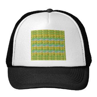 GOODLUCK Golden Green Crystal Beads crystal gifts Trucker Hat