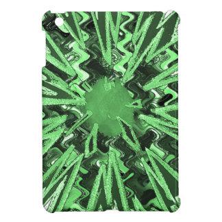 Goodluck Green Sparkle star modern abstract art Case For The iPad Mini
