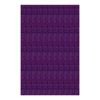 Goodluck Holy Purple Crystal Tiles add TEXT IMAGE Stationery
