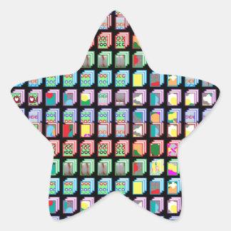 Goodluck Miniature Art Gifts Star Sticker