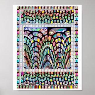 Goodluck Miniature FineArt Waves by NavinJoshi Poster