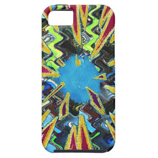 Goodluck modern abstract art sparkling star shine iPhone SE/5/5s case