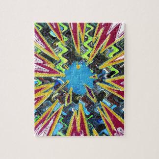 Goodluck modern abstract art sparkling star shine jigsaw puzzle