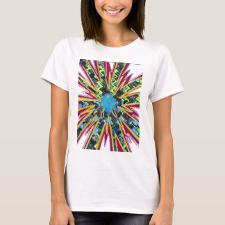 Goodluck modern abstract art sparkling star shine T-Shirt