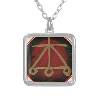 Goodluck Native Energy  SYMBOLS Silver Plated Necklace
