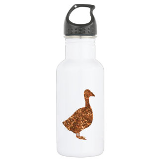 GoodLuck Symbols:  Golden Geese Goose own one 18oz Water Bottle