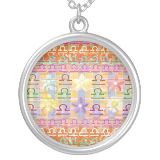 Goodluck Zodiac LIBRA Silver Plated Necklace