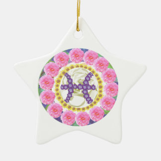 Goodluck  Zodiac Pisces Christmas Tree Ornament
