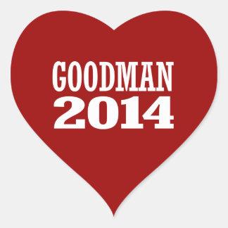 GOODMAN 2014 STICKERS