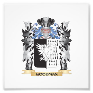 Goodman Coat of Arms - Family Crest Photo Print