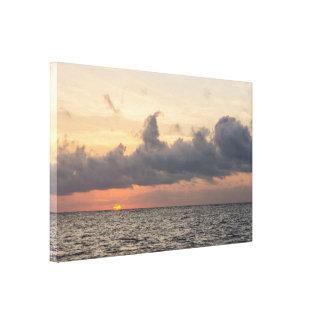 Goodmorning Folly Beach Canvas Print