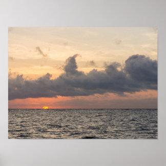 Goodmorning Folly Beach Poster