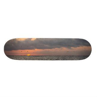 Goodmorning Folly Beach Skateboard Deck