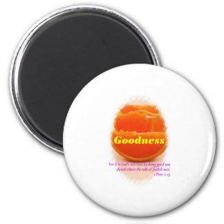 Goodness 2 Inch Round Magnet