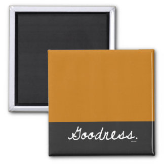 Goodness Color Block Tabletop Plaque Magnet