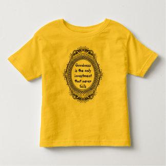 goodness toddler shirt