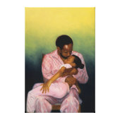 African American Wrapped Canvas Prints