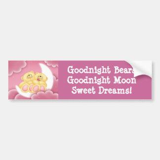 Goodnight Bears! Bumper Sticker