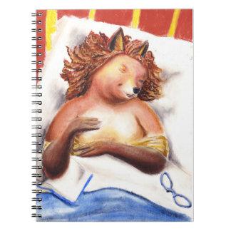 Goodnight diary notebook