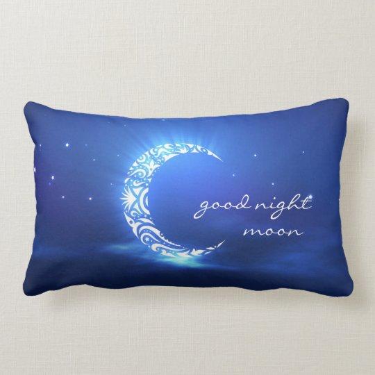 Goodnight Moon Amp Stars Child S Favorite Pillow Zazzle Com