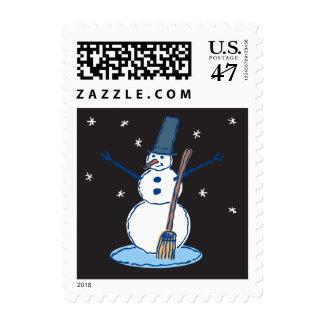 Goodnight Mr. Snowman Postage