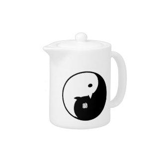 Goodnight / Oyasumi Punpun - Yin Yang Teapot