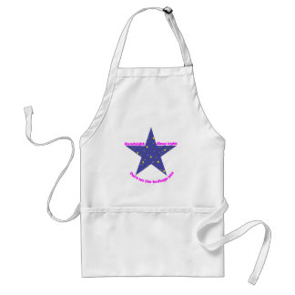 Goodnight Sleep Tight Bedbug Star Adult Apron